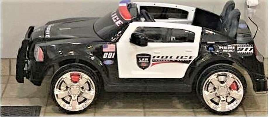 Police Motor car being raffled off