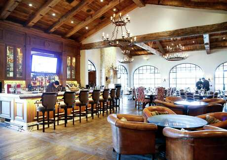 The restaurant in the main clubhouse at The Clubs at Houston Oaks on Wednesday, June 12, 2019 in Hockley.
