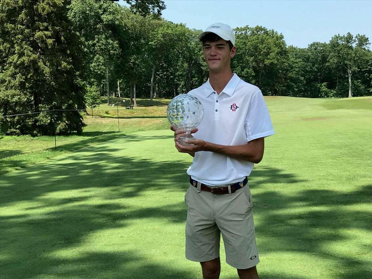 Jack Heath of Charlotte, N.C., won the Boys Junior PGA Championship at Keney Park Golf Course in Windsor on Friday.