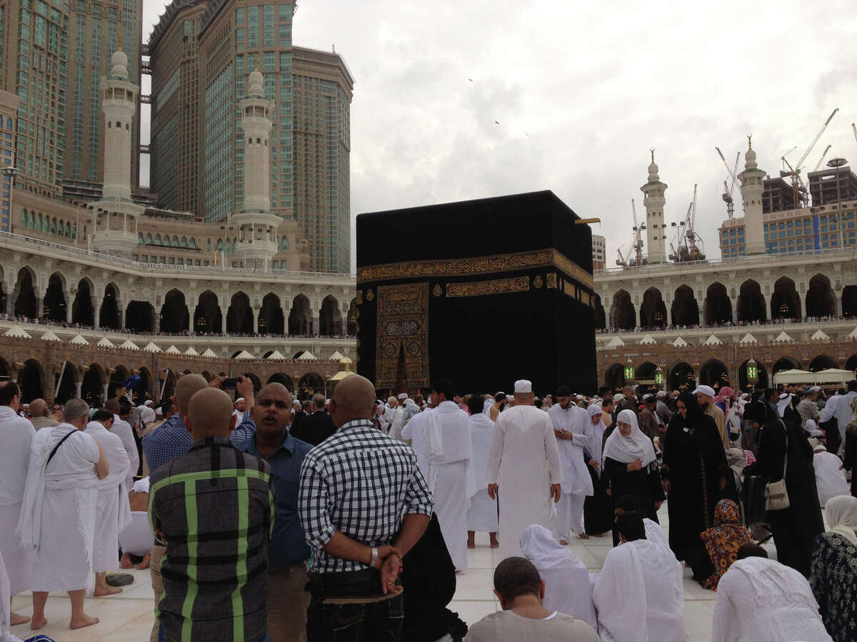 Azra Haqqie / Times Union Trip to Mecca in 2013.