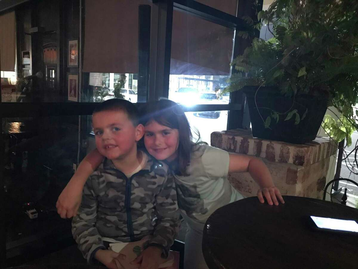 Jack and his sister Brooke. Jack, who is non-verbal, wandered away from home one evening to the local swimming pool. In response, his mother Liz Selig helped the Bellaire Police Department implement the Home Safe Bellaire Program.
