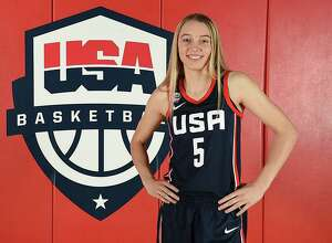 UConn commit Paige Bueckers, the USA Basketball 2019 Female Athlete of the Year.
