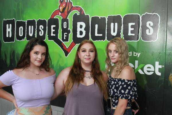 Fans attending the Carly Rae Jepsen concert at the House of Blues in Houston on August 2, 2019.