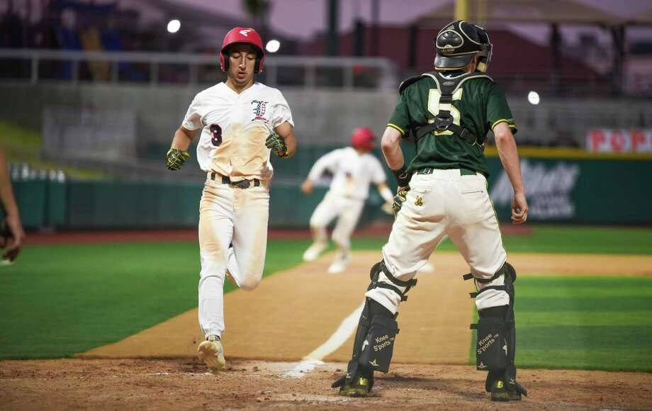 Alan Villarreal and Laredo beat Germany 7-4 Friday at Uni-Trade Stadium to open the Palomino World Series. Photo: Danny Zaragoza /Laredo Morning Times