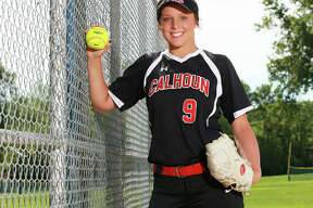 Calhoun's Sydney Baalman is he 2019 Telegraph Small-Schools Softball Player of the Year after pitching the Warriors to their fifth state tournament appearance in nine years.