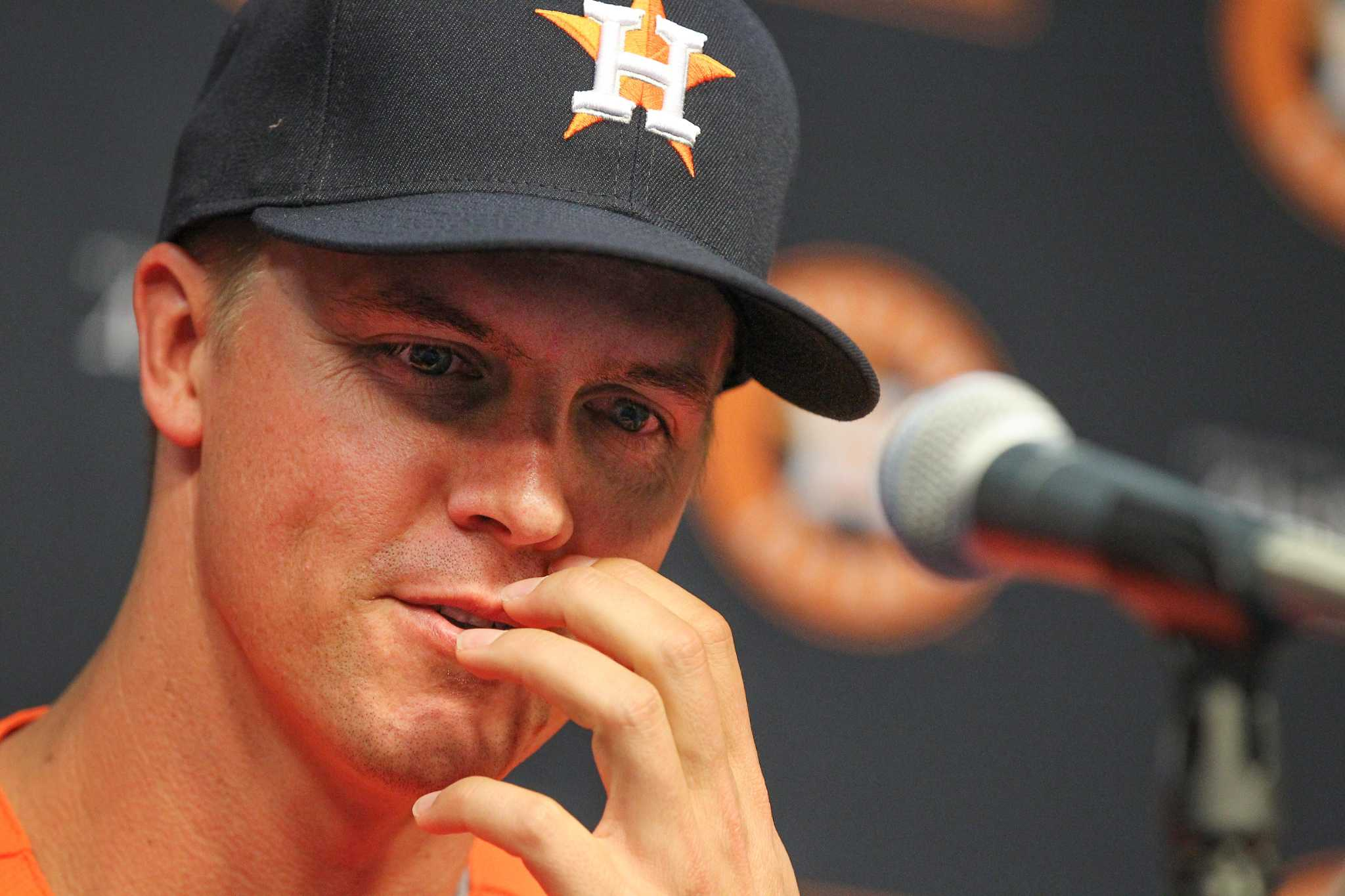Zack Greinke can be himself with Astros