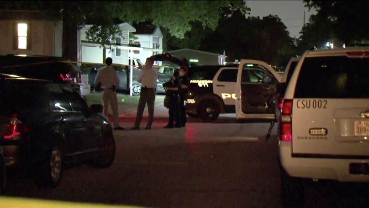 A man was fatally stabbed outside a mobile home in east Houston early Saturday morning, police said.