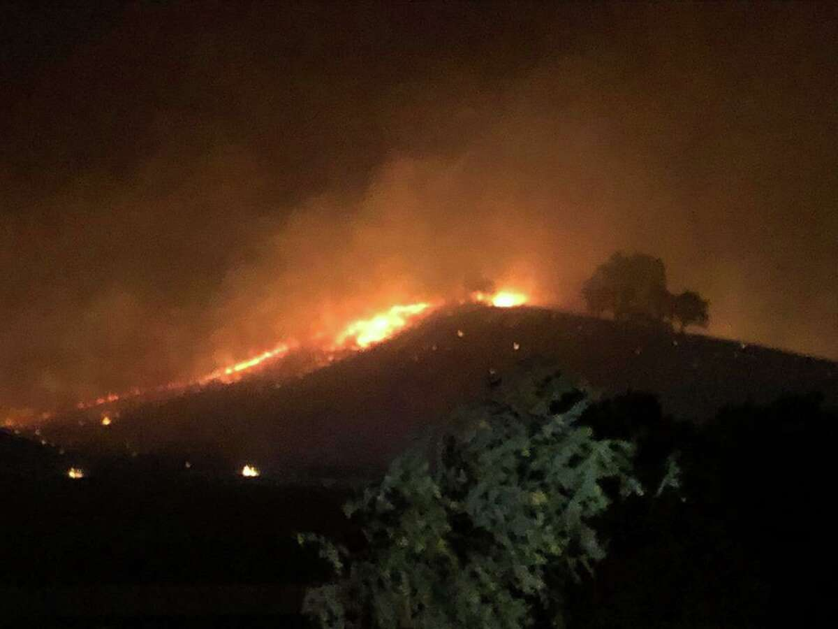 Eight fires erupted early Saturday morning off Marsh Creek Road and Morgan Territory Road near Clayton in Contra Costa County. The Marsh Complex is expected to be fully contained by Tuesday.