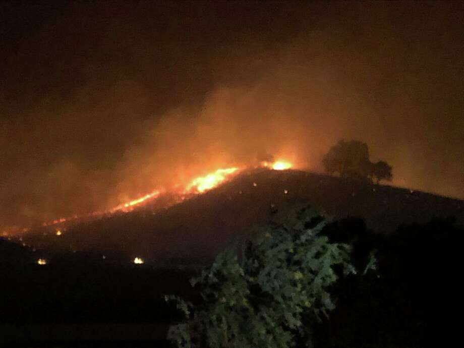 Vegetation fires lead to shelter-in-place order near Clayton