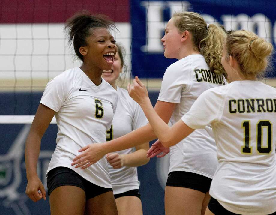 Conroe junior T'lisha Kennedy is returning to the fold after leading the Lady Tigers with 181 kills last season. Photo: Jason Fochtman, Houston Chronicle / Staff Photographer / © 2018 Houston Chronicle