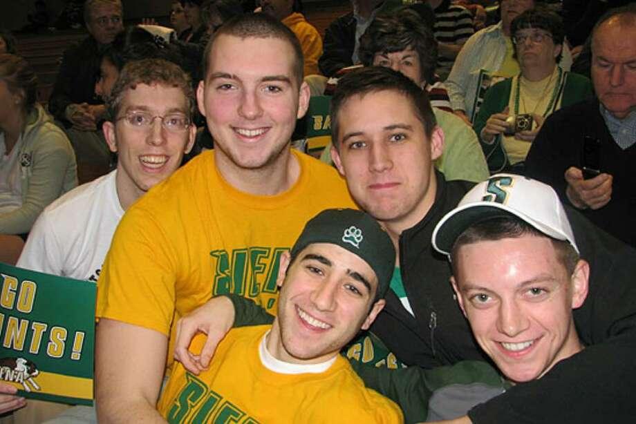 Were you seen at 2009 Siena's NCAA Tournament selection celebration? Photo: Kristi L. Gustafson