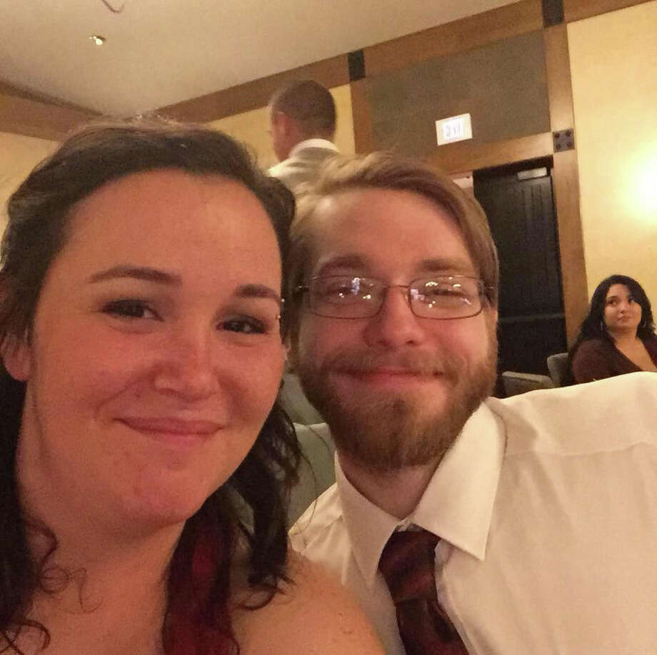 Josh Wilkerson and fiancee Rose Walters are pictured at a friend's wedding in November 2018. Wilkerson, 27, died in June from diabetes-related complications after switching to a less expensive form of insulin. Photo: Photo Courtesy Of Rose Walters / Photo courtesy of Rose Walters
