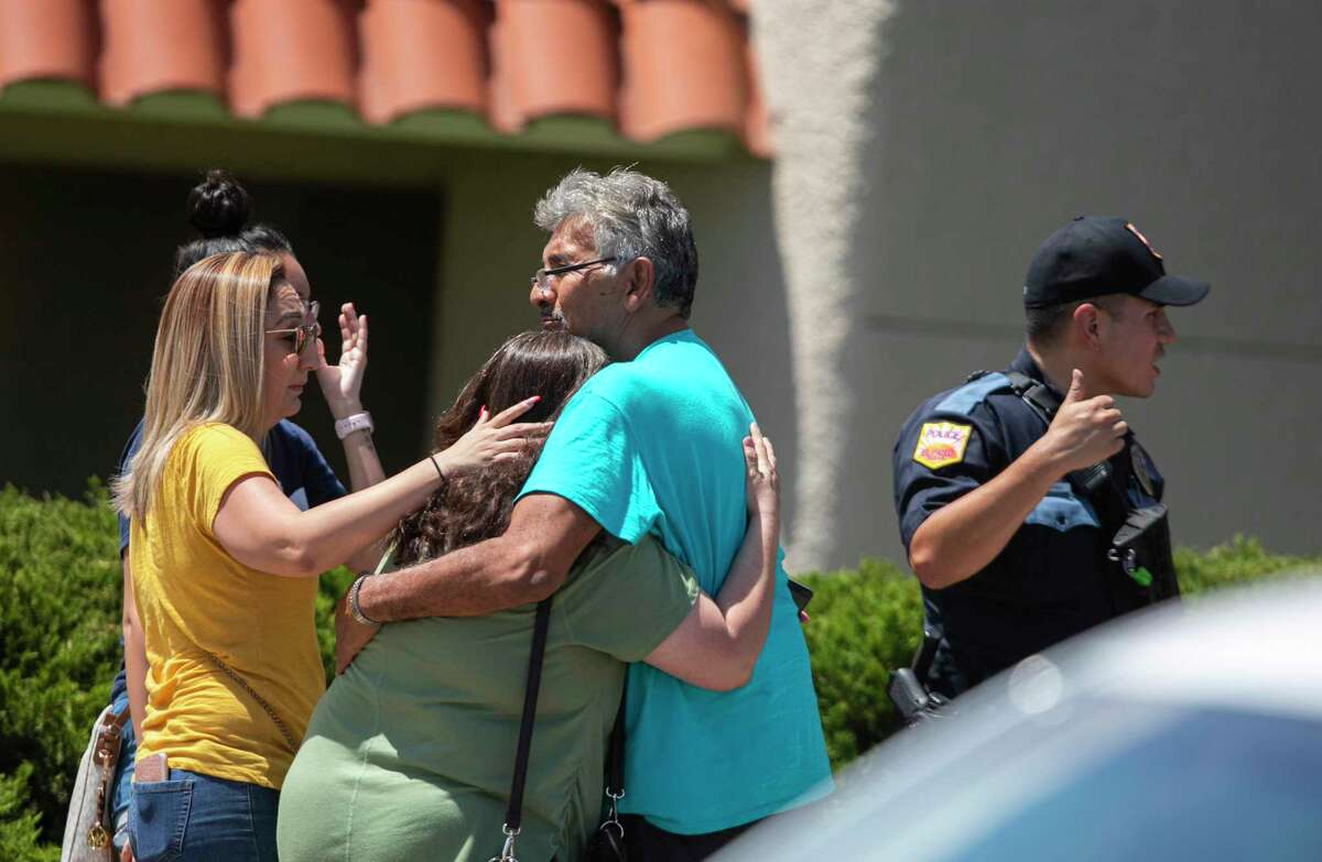 He has been charged with capital murder after allegedly opening fire in an El Paso Walmart and killing 20 people. Police are investigating the shooting as a possible hate crime. It will be handled as a domestic terrorism case, according to the Associated Press. A family embraces near the Walmart where a man opened fire on back-to-school shoppers, Saturday, August 3, 2019, in El Paso, Texas. Multiple people are dead after a mass shooting at an El Paso Walmart on Saturday. The mayor says three people are in custody for the shooting but the El Paso police spokesman says there was only one shooter.
