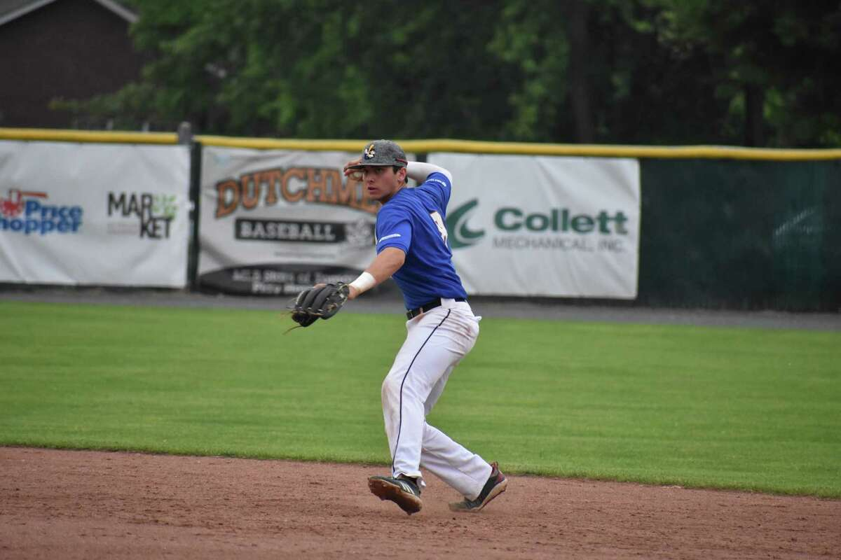 Ben Metzinger played in 12 games for Louisville this season before joining the Albany Dutchmen. (Samantha Engelmyer/Albany Dutchmen)