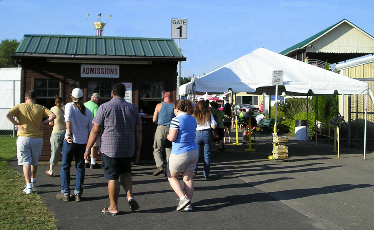 The Columbia County Fair opens on Wednesday, Aug. 28th at noon and runs through Monday, Labor Day, Sept. 2. Seen here, the ticket gate. (Courtesy Columbia County Fair)