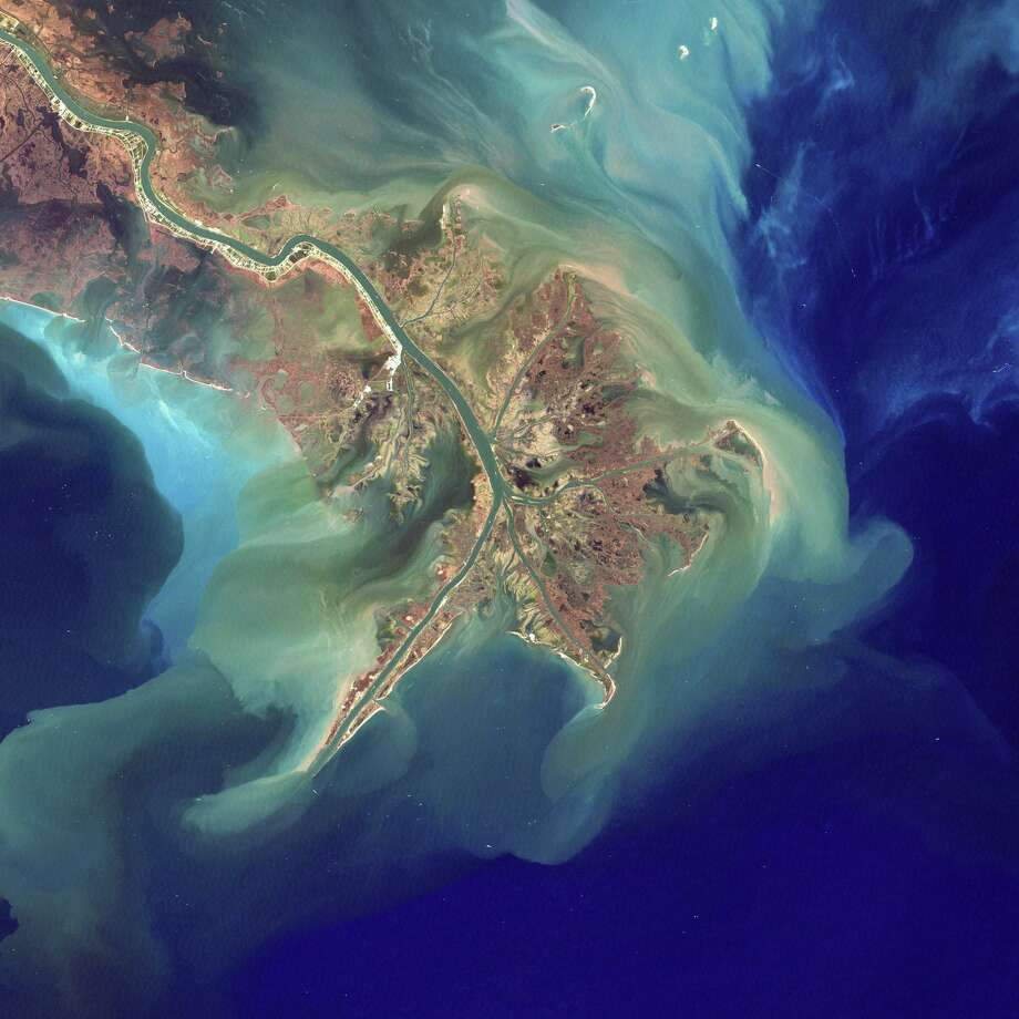Perhaps the most infamous U.S. dead zone is an 8,500 square mile swath of the Gulf of Mexico, not far from where the nutrient-laden Mississippi River, which drains farms up and down the Midwest, lets out. Photo courtesy of Robert Simmon, NASA Photo: Contributed Photo / Contributed Photo / New Canaan News