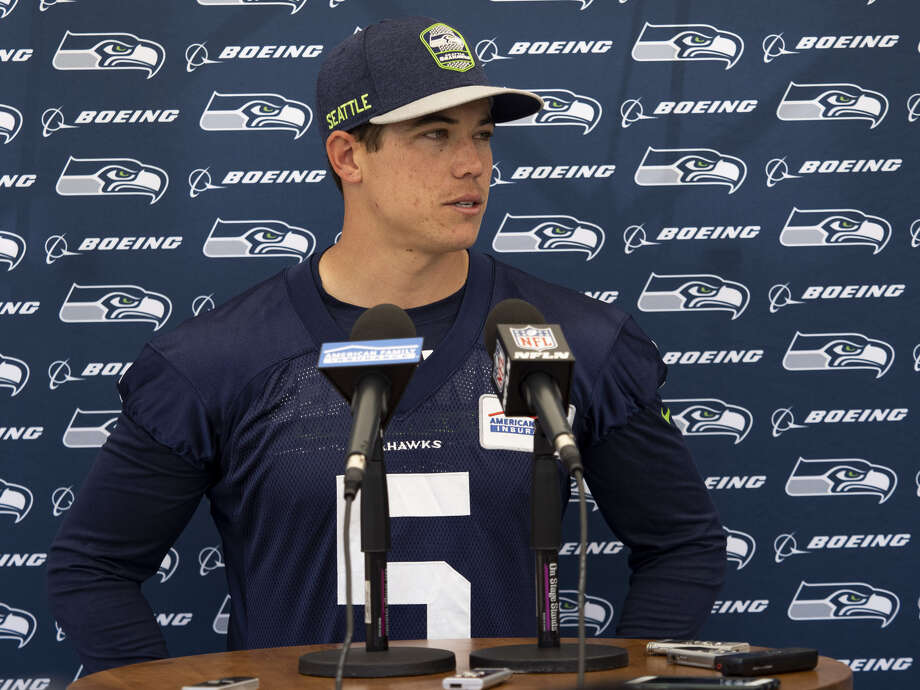 MYERS SHOWCASED HIS POWERFUL LEG 