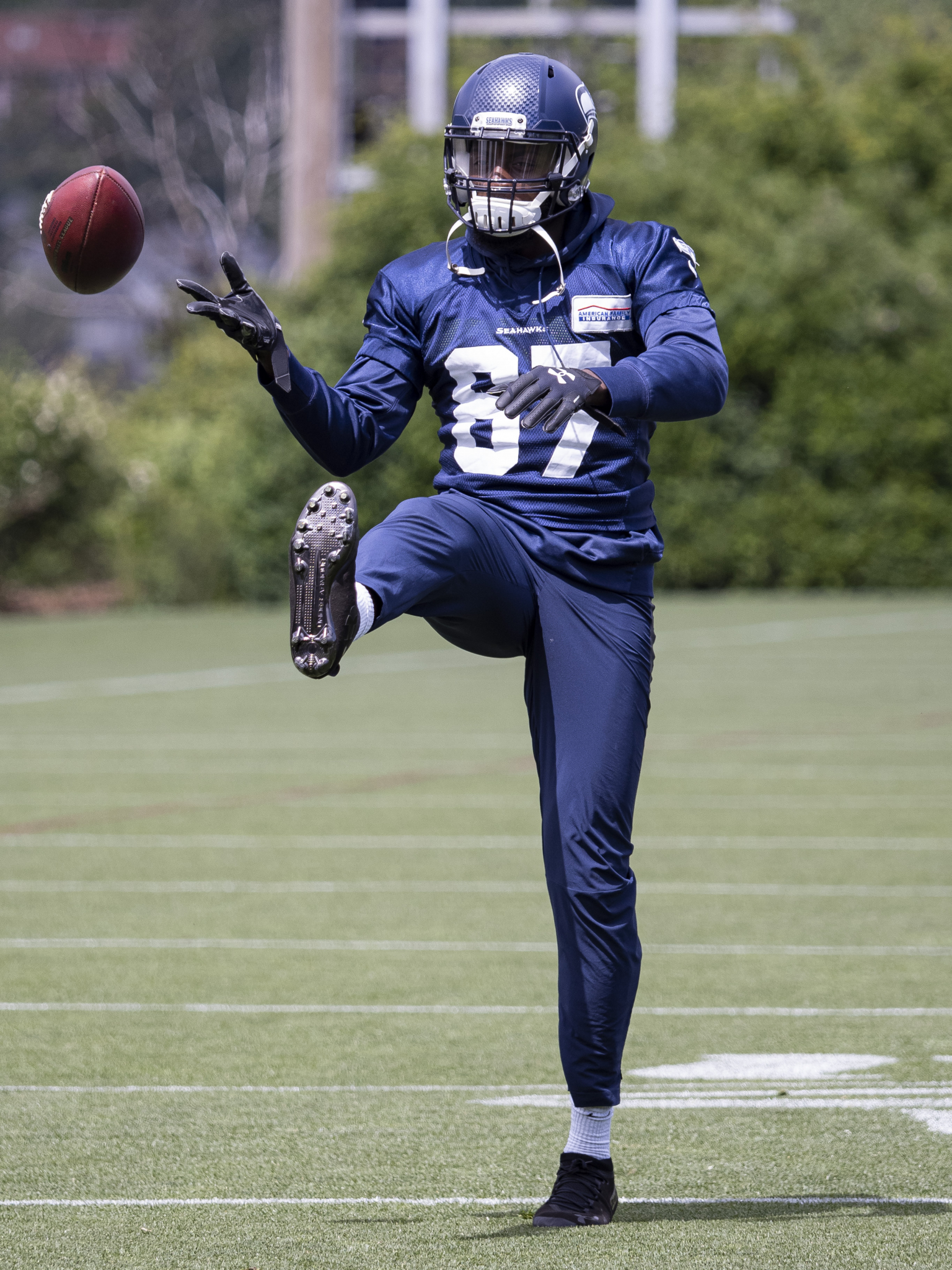 Who's that Seahawk? Q&A with undrafted rookie WR Jazz Ferguson