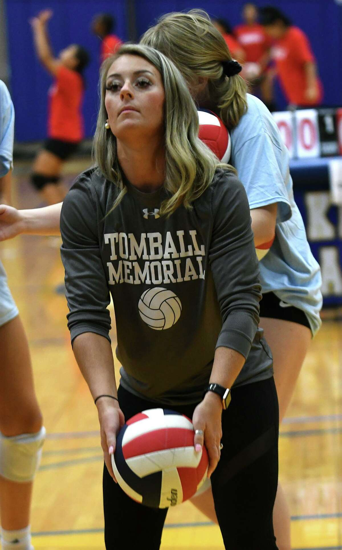 Tomball Memorial assistant volleyball coach Sydney Lynch.