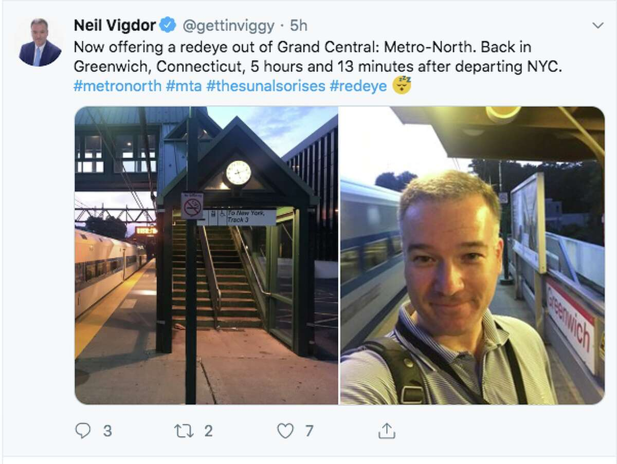 Riders shared their frustration early on Sunday, Aug. 4, after Metro North was experiencing delays of upwards of seven hours due to