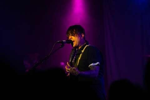 Photos: Alt rocker Frank Iero brings act to Paper Tiger - San