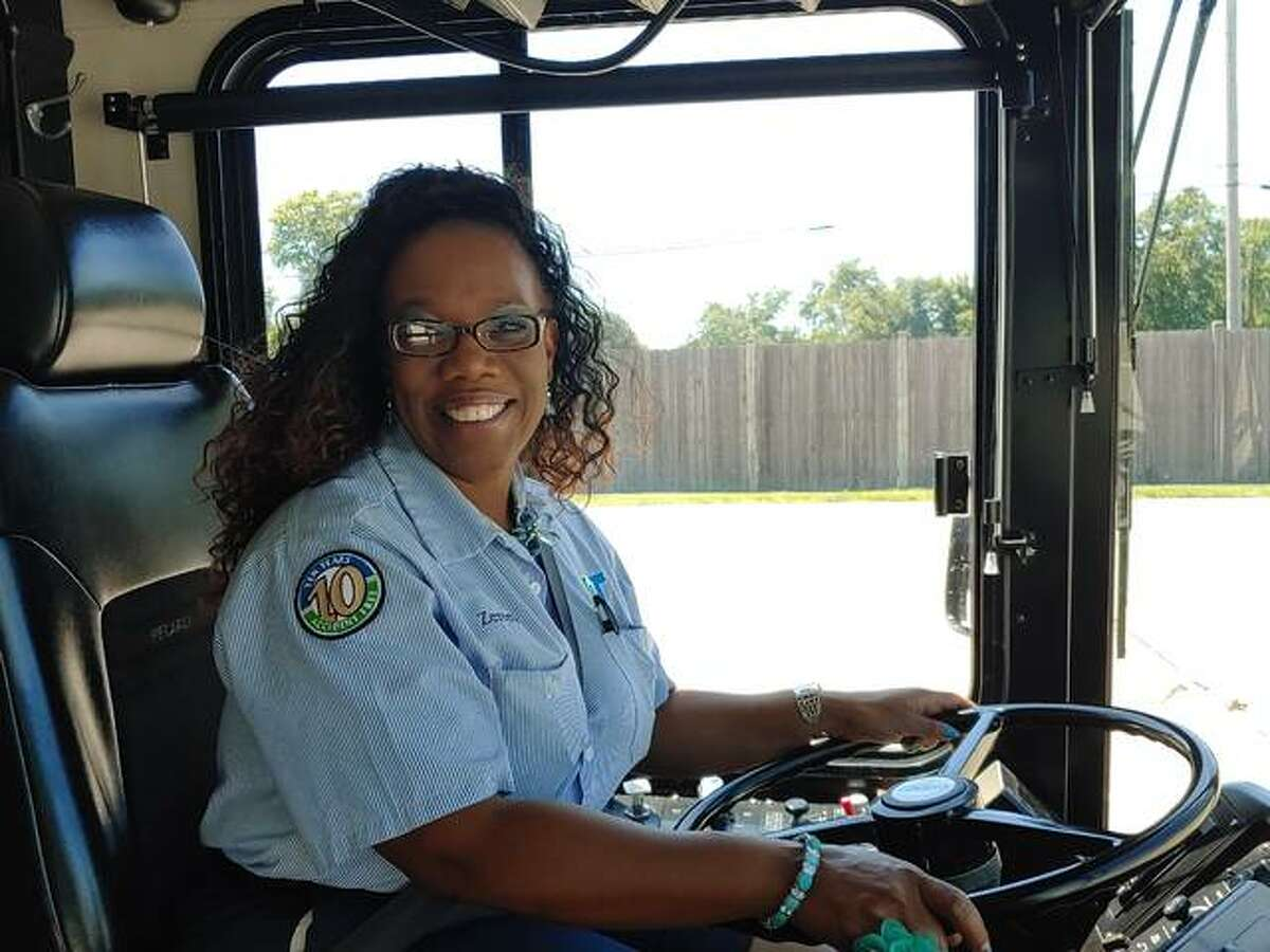 Zereeta Kinney-Lee has worked 22 years for the Agency for Community Transit, the operator of Madison County Transit. ACT is now hiring drivers, fuelers and cleaners.