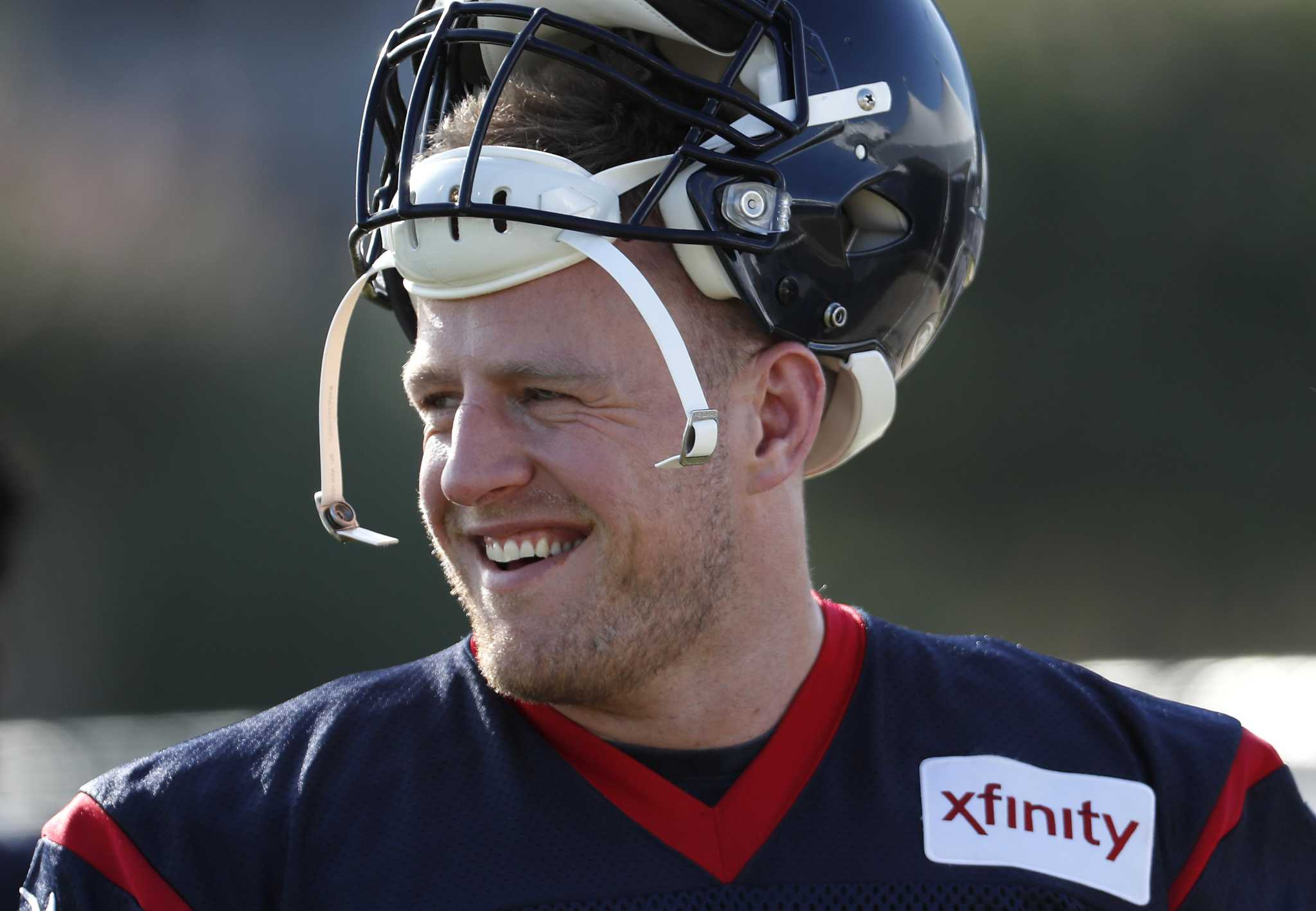 Chance to practice, play in Green Bay a thrill for Texans' J.J. Watt