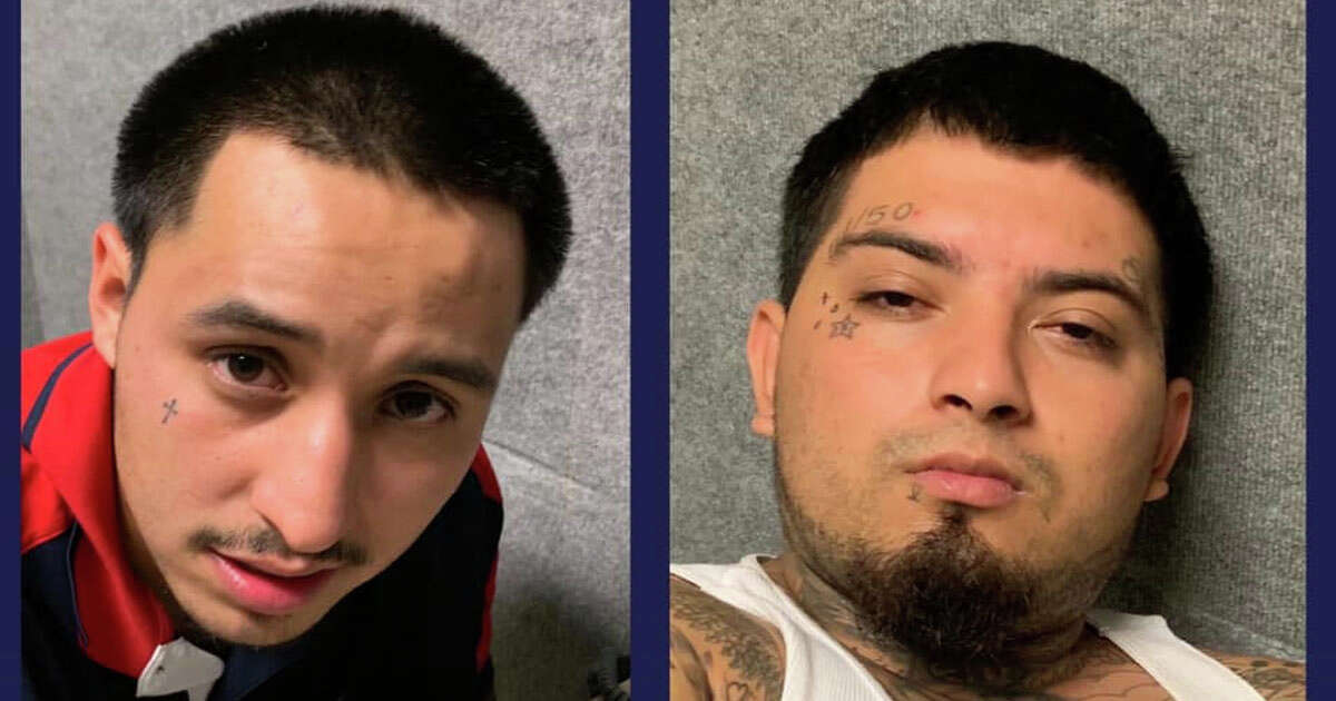 Manuel Martinez III, 25, (left) and Rene Garcia, 24, (right) will be charged with capital murder in the death of Jose Rodriguez, 77, according to San Antonio police.