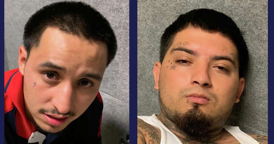 Manuel Martinez III, 25, (left) and Rene Garcia, 24, (right) will be charged with capital murder in the death of Jose Rodriguez, 77, according to San Antonio police. Photo: SAPD