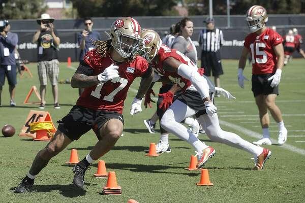 49ers rookie wide receiver Jalen Hurd has displayed ...