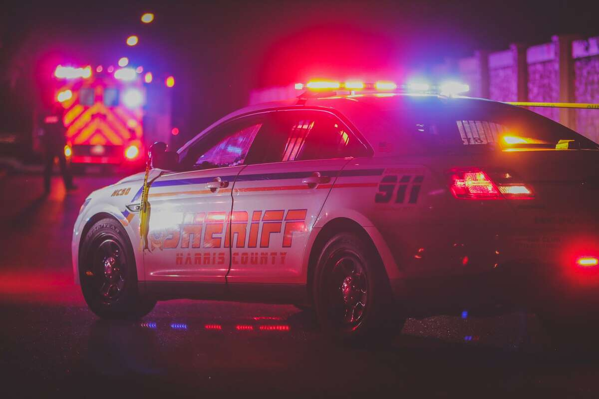 A pedestrian was hit and killed Sunday night at the intersection of Queenston and Silvery Sky in northwest Harris County, authorities said.