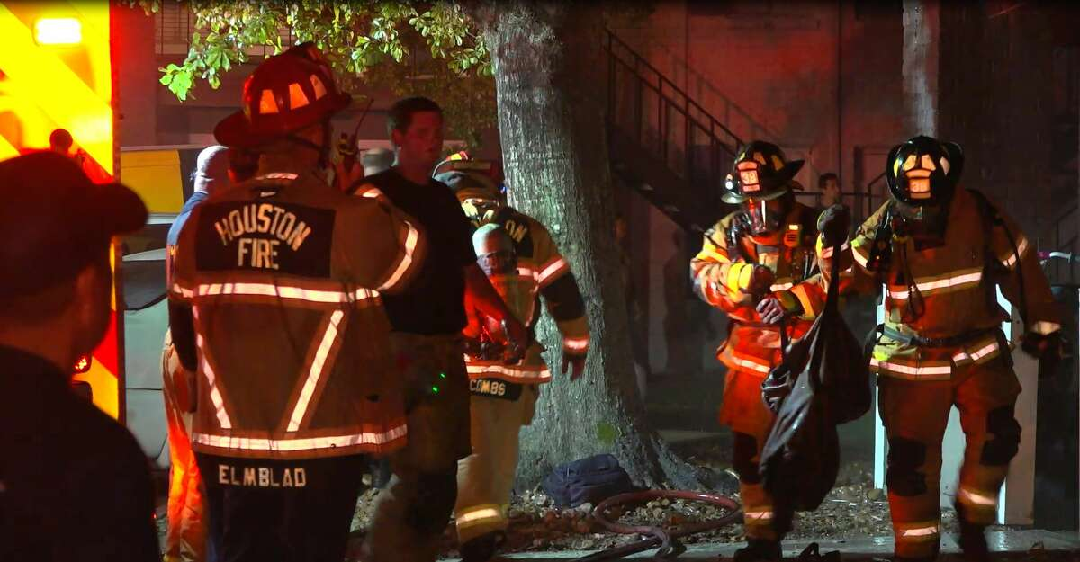A man attempting to cook french fries early Monday had to evacuate his home after a grease fire