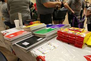 The City of Cleveland held a Back to School Spectacular at the Cleveland Civic Center on Aug. 2.