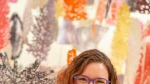 Nicole Snow, founder of Darn Good Yarn.