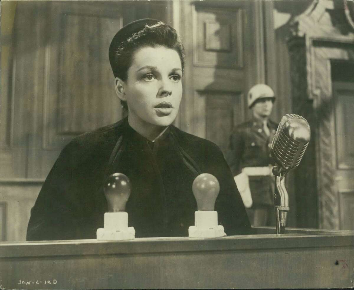 Judy Garland in scene from Judgment at Nuremberg