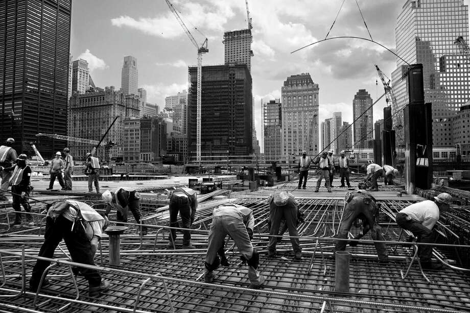 """Scraping the Sky: Photographs by Vicky Roy,"" featuring images of the rebuilding of New York's World Trade Center in 2009, is on view Aug. 10-Oct. 20 at Asia Society Texas Center. Photo: Vicky Roy / Vicky Roy"