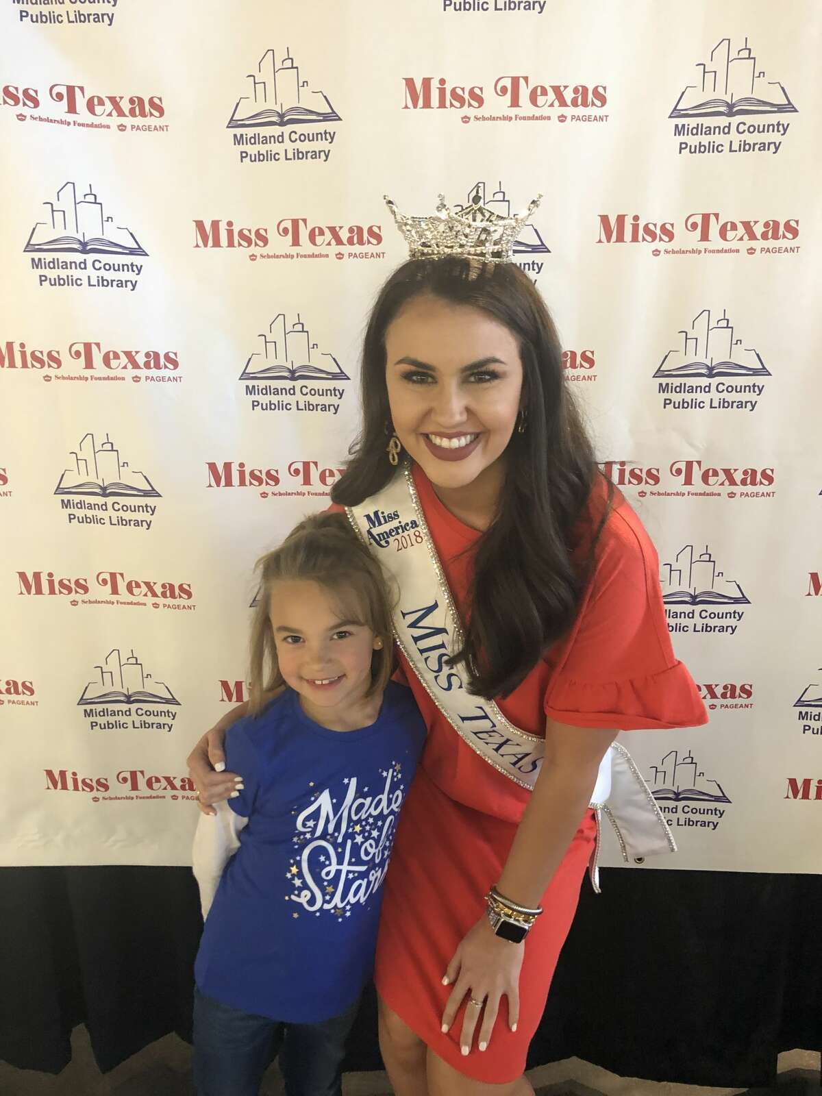Miss Texas: Paisley Hatch, left, and Madison Fuller