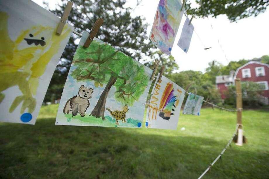 Weir Farm's Art in the Park Festival is going virtual this year. Photo: Michael Cummo /Hearst Connecticut Media / Wilton Bulletin