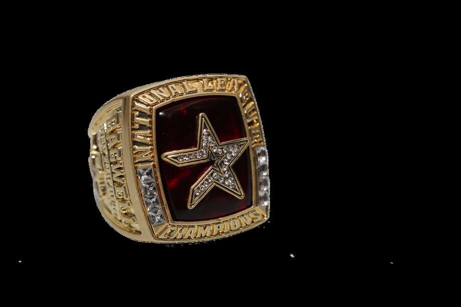 Monday, Sept. 9 vs. Tigers, 7:10 p.m. Replica of Jeff Bagwell's 2005 National League championship ring (All fans)  Photo: Houston Astros