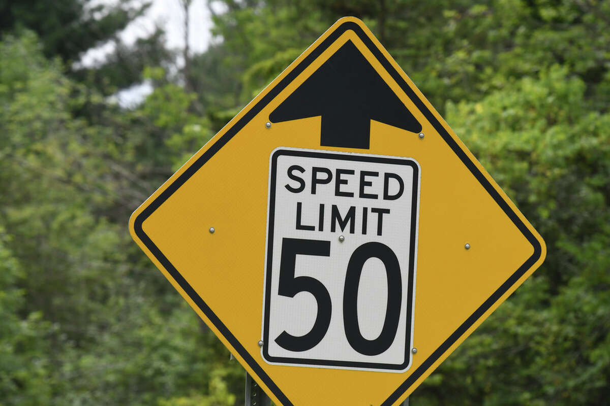 The speed limit has not change on the approach to the deadly intersection at Route 30 and 30A where 20 people were killed in a tragic 2018 limousine crash on Wednesday, July 31, 2019, in Schoharie, N.Y. Little, if anything, appears to have been done to improve safety at the fatal intersection since the October crash. (Will Waldron/Times Union)
