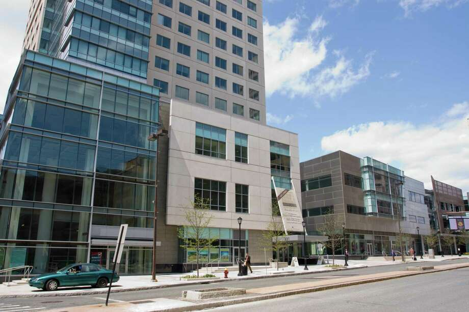 The XL Center on Trumbull Street in Hartford was developed by Northland Investment Corp., and is now owned by the Capital Region Development Authority. Photo: /