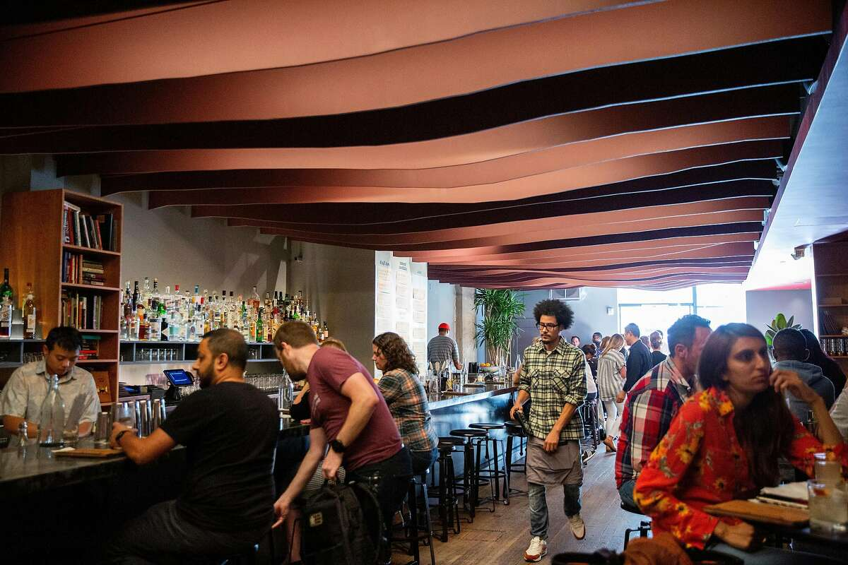 Here's How bar on Thursday, Aug. 1, 2019, in Oakland, Calif. The bar is located at 1780 Telegraph Ave.
