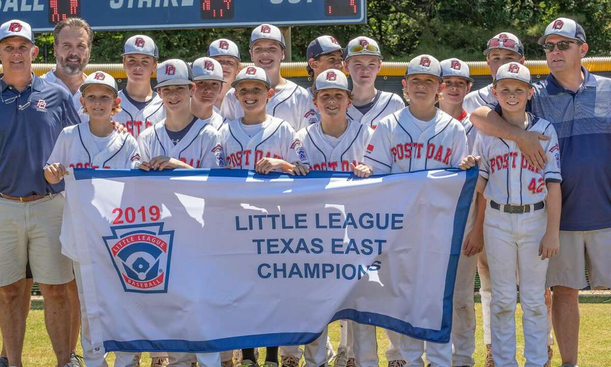 Post Oak Little League repeated as Texas East state champions in the Major division (12 and under). The team advanced in the Southwest Regional and challenged for a return trip to the Little League World Series.