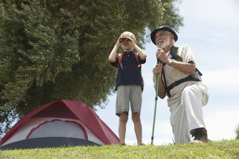 A grandfather's medical condition could possibly endanger his grand kids on a camping outing. Photo: Moodboard/Getty Images