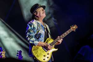 Santana and the Doobie Brothers will perform at Xfinity Theatre in Hartford on Aug. 21. Carlos Santana is seen here.