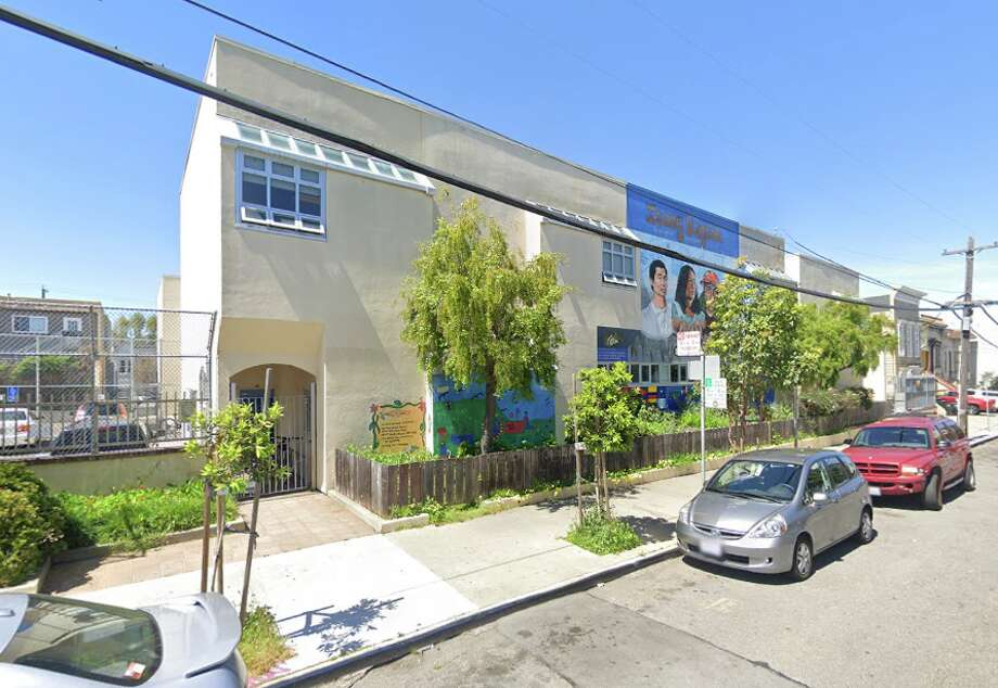 Mission Preparatory School outperforms its expectations by a higher margin than all other San Francisco elementary schools, according to an analysis by the data science startup Fokal in Mountain View. Photo: Google Street View