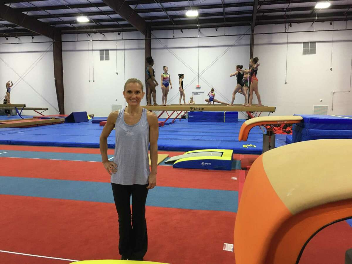 In addition to gymnastics, Stars Gymnastics of Houston will offer a Ninja program this fall at its newly opened Katy-area facility in the Grand Parkway Industrial Park. Above, is co-owner Ashly Baker.
