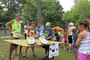 Campers enjoy a carnival at Camp MOE in Torrington in 2017. The camp's annual fundraiser, Miles 4 Moe 5K run/walk, is set for Sept. 14.