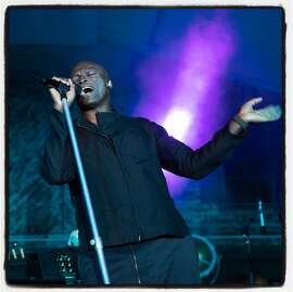 Grammy winning artist Seal performs at Festival Napa Valley Arts for All fundraiser. July 14, 2019.