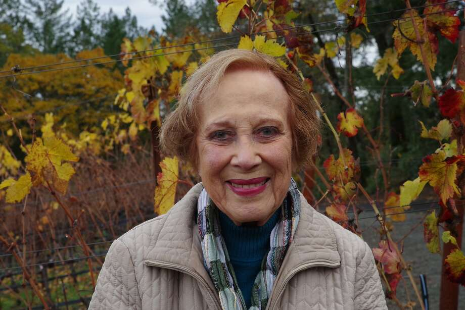 """Adelle """"Boots"""" Brounstein, owner of Diamond Creek Vineyards in Napa Valley, died on July 31. Photo: Courtesy Chuck Ross"""
